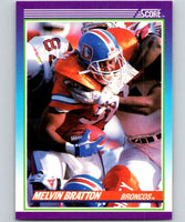 1990 Score #133 Melvin Bratton RC Rookie Broncos NFL Football