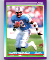 1990 Score #138 Alonzo Highsmith Oilers NFL Football