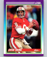 1990 Score #145 Steve Young 49ers NFL Football