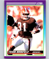 1990 Score #148 Frank Minnifield Browns NFL Football