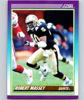 1990 Score #149 Robert Massey Saints NFL Football