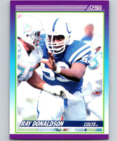 1990 Score #153 Ray Donaldson Colts NFL Football