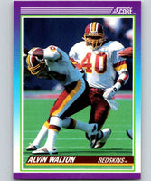 1990 Score #154 Alvin Walton Redskins NFL Football