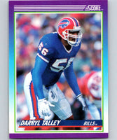 1990 Score #156 Darryl Talley Bills NFL Football