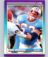 1990 Score #161 Mike Munchak Oilers NFL Football
