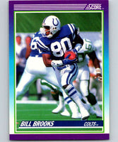 1990 Score #168 Bill Brooks Colts NFL Football