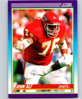 1990 Score #176 John Alt RC Rookie Chiefs NFL Football