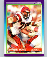 1990 Score #178 Anthony Munoz Bengals NFL Football
