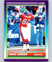1990 Score #182 Vance Johnson Broncos NFL Football