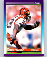 1990 Score #183 David Fulcher Bengals NFL Football