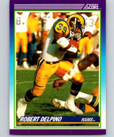 1990 Score #184 Robert Delpino LA Rams NFL Football