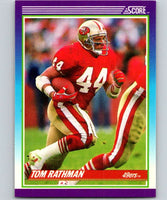 1990 Score #188 Tom Rathman 49ers NFL Football