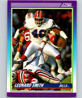1990 Score #190 Leonard Smith Bills NFL Football