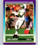 1990 Score #193 Cris Carter Eagles NFL Football