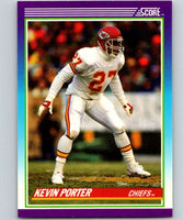 1990 Score #194 Kevin Porter RC Rookie Chiefs NFL Football
