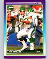 1990 Score #198 Jim Sweeney NY Jets NFL Football
