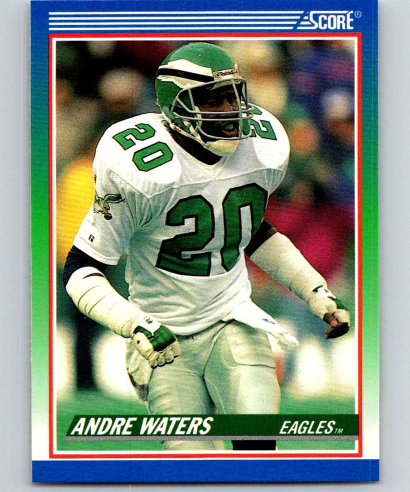 1990 Score #413 Andre Waters Eagles NFL Football