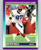 1990 Score #456 Butch Rolle RC Rookie Bills NFL Football