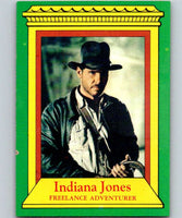 1981 Topps Raiders Of The Lost Ark #2 Indiana Jones