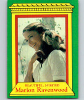 1981 Topps Raiders Of The Lost Ark #3 Marion Ravenwood