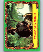 1981 Topps Raiders Of The Lost Ark #6 Valley Of Mystery