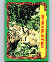 1981 Topps Raiders Of The Lost Ark #7 Temple Of The Warriors