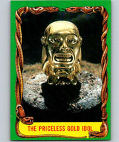 1981 Topps Raiders Of The Lost Ark #9 The Priceless Idol