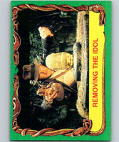 1981 Topps Raiders Of The Lost Ark #10 Removing The Idol