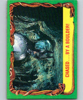 1981 Topps Raiders Of The Lost Ark #12 Chased...By A Boulder!