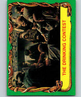1981 Topps Raiders Of The Lost Ark #21 The Drinking Contest