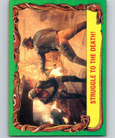 1981 Topps Raiders Of The Lost Ark #28 Struggle to the Death!