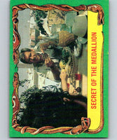 1981 Topps Raiders Of The Lost Ark #34 Secret Of The Medallion