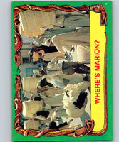 1981 Topps Raiders Of The Lost Ark #38 Where's Marion?