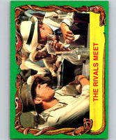 1981 Topps Raiders Of The Lost Ark #40 The Rivals Meet