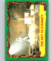 1981 Topps Raiders Of The Lost Ark #46 The Key To Eternity