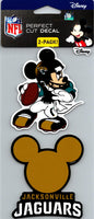 Jacksonville Jaguars Disney Perfect Cut 4