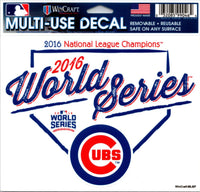 Chicago Cubs 2016 World Series Multi-Use Decal Sticker MLB 5