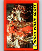 1984 Topps Indiana Jones and the Temple of Doom #2 Singer Willie Scott