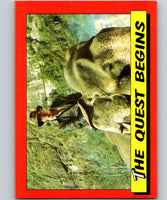 1984 Topps Indiana Jones and the Temple of Doom #15 The Quest Begins