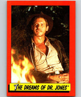 1984 Topps Indiana Jones and the Temple of Doom #19 The Dreams of Dr. Jones