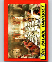 1984 Topps Indiana Jones and the Temple of Doom #23 The Palace Banquet