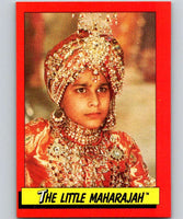 1984 Topps Indiana Jones and the Temple of Doom #24 The Little Maharajah