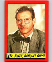 1984 Topps Indiana Jones and the Temple of Doom #25 Dr. Jones/Banquet Guest