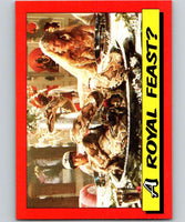 1984 Topps Indiana Jones and the Temple of Doom #26 A Royal Feast?