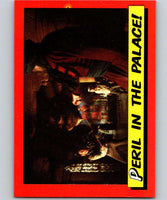 1984 Topps Indiana Jones and the Temple of Doom #30 Peril in the Palace!