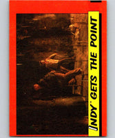1984 Topps Indiana Jones and the Temple of Doom #34 Indy Gets the Point