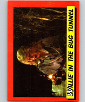 1984 Topps Indiana Jones and the Temple of Doom #36 Willie in the Bug Tunnel