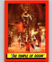 1984 Topps Indiana Jones and the Temple of Doom #37 The Temple of Doom