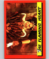 1984 Topps Indiana Jones and the Temple of Doom #40 The Flaming Heart