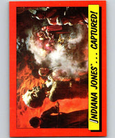 1984 Topps Indiana Jones and the Temple of Doom #42 Indiana Jones...Captured!